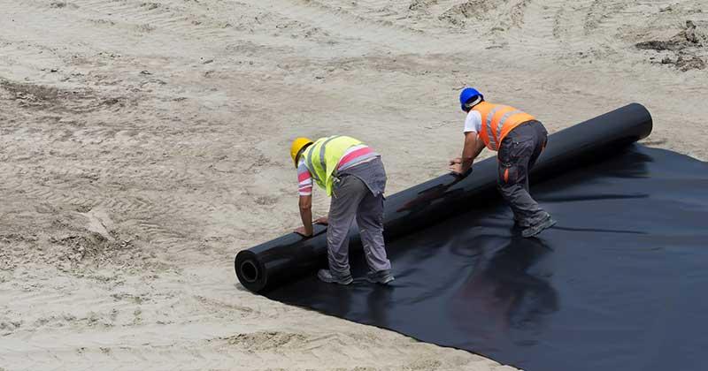 Oblaganje terena membranama