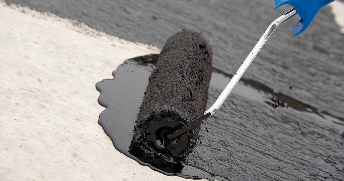 Nanošenje bitumenskog mastiksa na podlogu