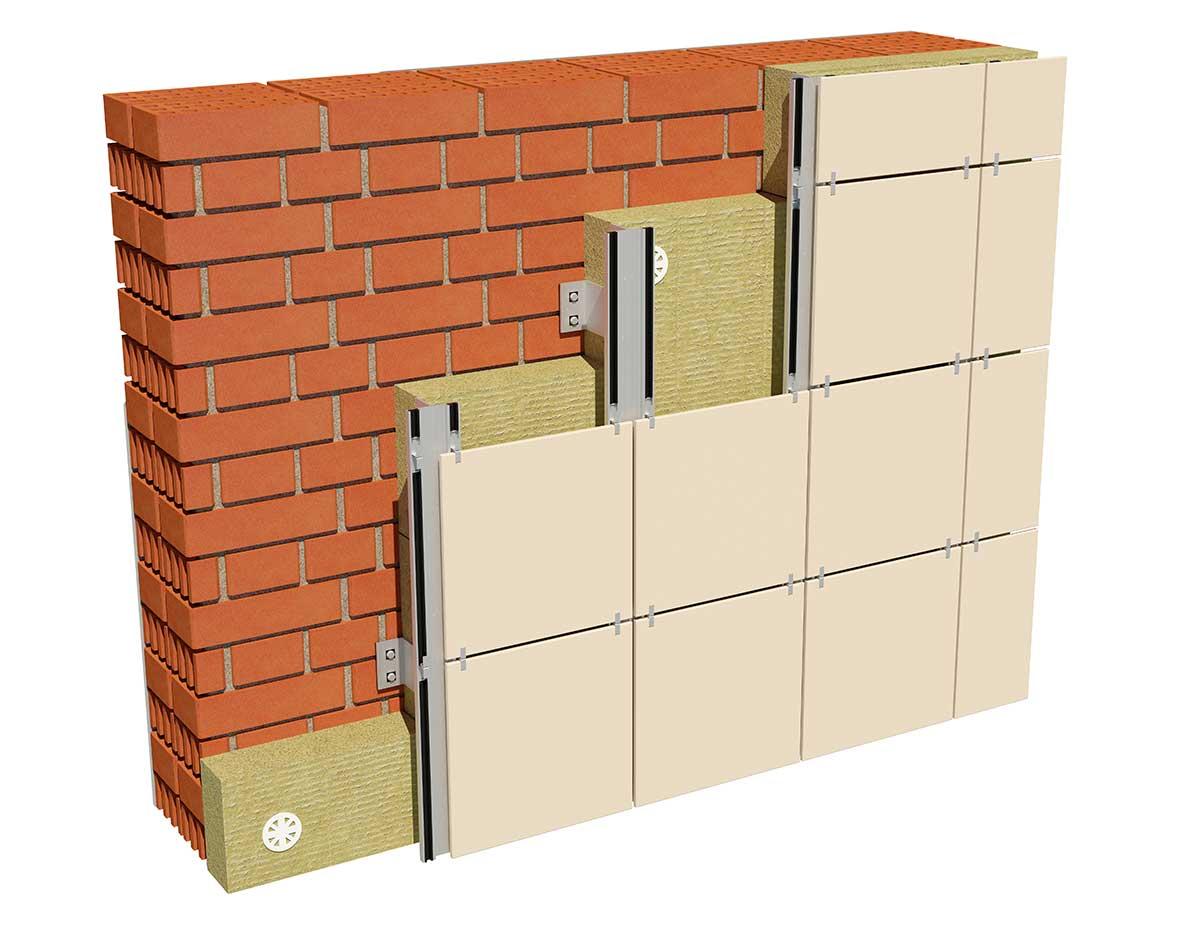 Ugradnja kamene vune kod ventilisanih fasada