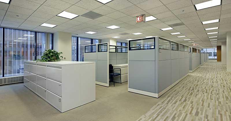 Kancelarije formirane od zvukoizolacionih pokretnih panela