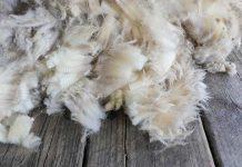 Ovčija vuna izolacioni materijal