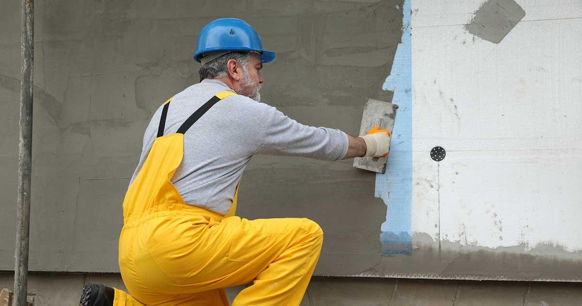 Postavljanje termoizolacije na spoljnu stranu fasadnog zida