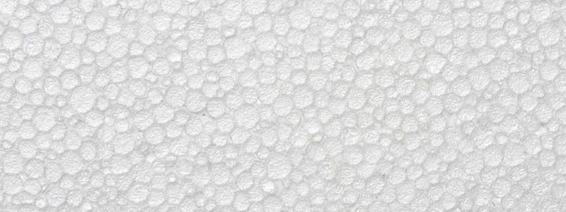 Detalj ploče od stiropora (ekspandirani polistiren - EPS)