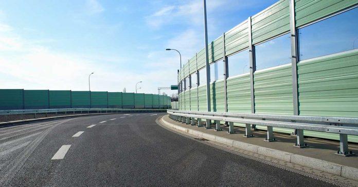 Zvučne barijere na autoputu